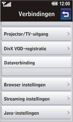 LG GD900 Crystal - Internet - Automatisch instellen - Stap 7