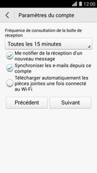 Huawei Ascend Y550 - E-mail - Configuration manuelle (outlook) - Étape 8