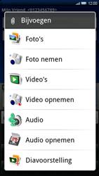 Sony Ericsson Xperia X10 - MMS - afbeeldingen verzenden - Stap 10