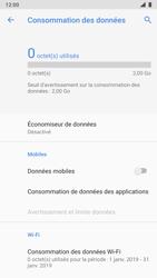 Nokia 8 - Android Pie - Internet et roaming de données - Comment vérifier que la connexion des données est activée - Étape 6