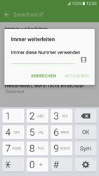 Samsung G930 Galaxy S7 - Anrufe - Rufumleitungen setzen und löschen - Schritt 10