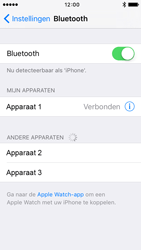 Apple iPhone 5s (iOS 9) - bluetooth - headset, carkit verbinding - stap 6