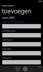 Nokia Lumia 625 - Internet - Handmatig instellen - Stap 15