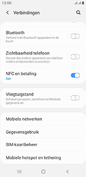 Samsung galaxy-a6-sm-a600fn-ds-android-pie - WiFi - Mobiele hotspot instellen - Stap 5