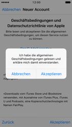 Apple iPhone SE - iOS 10 - Apps - Konto anlegen und einrichten - Schritt 11
