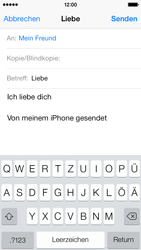 Apple iPhone 5c - E-Mail - E-Mail versenden - 1 / 1