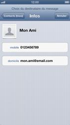 Apple iPhone 5 - MMS - envoi d'images - Étape 5