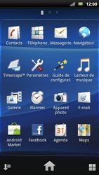 Sony Xperia Neo - Internet - Navigation sur Internet - Étape 2