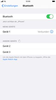 Apple iPhone 8 Plus - iOS 13 - Bluetooth - Verbinden von Geräten - Schritt 8