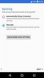 Sony Xperia XZ (F8331) - E-mail - Manual configuration POP3 with SMTP verification - Step 22