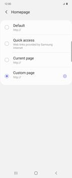 Samsung Galaxy Z flip - Internet and data roaming - Manual configuration - Step 29