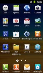 Samsung I8530 Galaxy Beam - bluetooth - aanzetten - stap 3