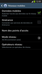 Samsung I9505 Galaxy S IV LTE - Internet - Désactiver les données mobiles - Étape 6