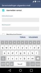 LG K10 4G - E-mail - Account instellen (POP3 zonder SMTP-verificatie) - Stap 15