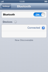 Apple iPhone 4 - Bluetooth - connecting devices - Step 9