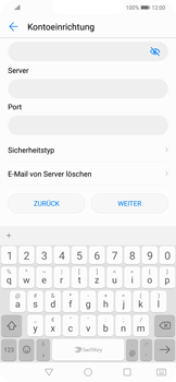 Huawei Mate 20 Lite - E-Mail - Konto einrichten - Schritt 10