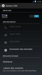 Wiko jimmy - Internet et roaming de données - Désactivation du roaming de données - Étape 5