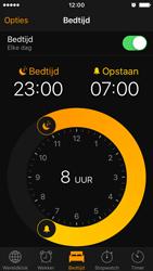 Apple iPhone SE - iOS 10 - iOS features - Bedtijd - Stap 14