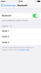 Apple iPhone SE - Bluetooth - Geräte koppeln - 7 / 9