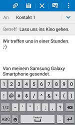 Samsung Galaxy J1 - E-Mail - E-Mail versenden - 10 / 20