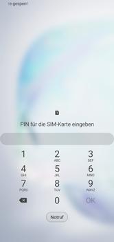 Samsung Galaxy Note 10 - Gerät - Einen Soft-Reset durchführen - Schritt 4