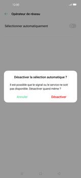Oppo Find X2 - Réseau - Sélection manuelle du réseau - Étape 9