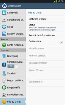 Samsung Galaxy Tab 3 8-0 LTE - Software - Installieren von Software-Updates - Schritt 6
