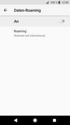 Sony Xperia XZ1 Compact - Ausland - Im Ausland surfen – Datenroaming - 9 / 13