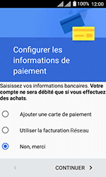 Alcatel U3 - Applications - Créer un compte - Étape 19