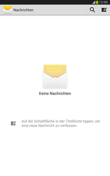 Samsung Galaxy Note 8-0 - SMS - Manuelle Konfiguration - 4 / 9