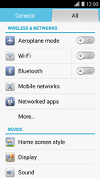 Huawei Ascend Y550 - MMS - Manual configuration - Step 3