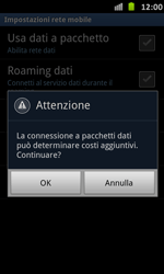 Samsung Galaxy S Advance - Internet e roaming dati - Configurazione manuale - Fase 7