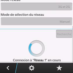 BlackBerry Q10 - Réseau - Sélection manuelle du réseau - Étape 10