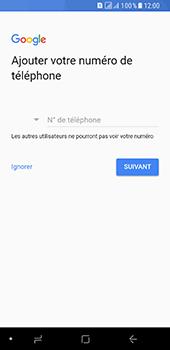 Samsung Galaxy A8 (2018) - Applications - Créer un compte - Étape 15