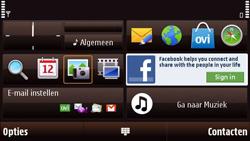 Nokia N97 Mini - MMS - Handmatig instellen - Stap 1