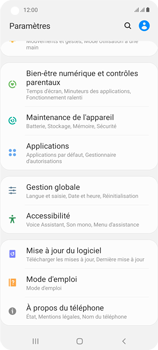 Samsung Galaxy A21s - Aller plus loin - Mettre à jour le logiciel interne de votre mobile - Étape 5