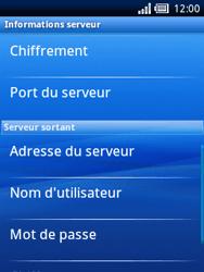 Sony Ericsson Xperia X10 Mini - E-mail - configuration manuelle - Étape 13