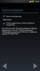 HTC One - Applicazioni - Configurazione del negozio applicazioni - Fase 12