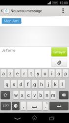 Sony Xpéria E3 - Contact, Appels, SMS/MMS - Envoyer un SMS - Étape 11