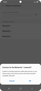 Samsung Galaxy S20 Ultra 5G - Network - Manual network selection - Step 12