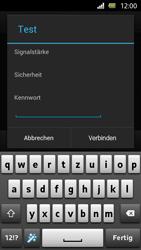 Sony Xperia U - WiFi - WiFi-Konfiguration - Schritt 7