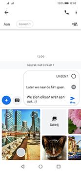 Huawei Y7 (2019) - MMS - afbeeldingen verzenden - Stap 12