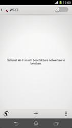 Sony Xperia Z1 - WiFi - WiFi configuration - Step 5