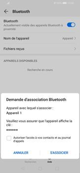 Huawei P Smart 2020 - Internet et connexion - Connexion avec un équipement multimédia via Bluetooth - Étape 8