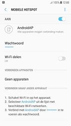 Samsung galaxy-s7-android-oreo - WiFi - Mobiele hotspot instellen - Stap 12