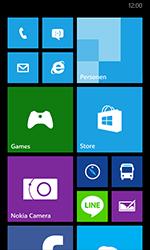 Nokia Lumia 630 - Voicemail - Handmatig instellen - Stap 1