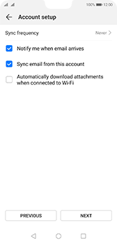 Huawei P20 - Android Pie - E-mail - 032b. Email wizard - Yahoo - Step 7