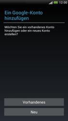 HTC One S - Apps - Konto anlegen und einrichten - 4 / 23