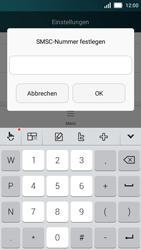 Huawei Y5 - SMS - Manuelle Konfiguration - Schritt 7
