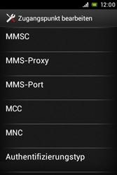 Sony Xperia E - Internet - Manuelle Konfiguration - Schritt 14